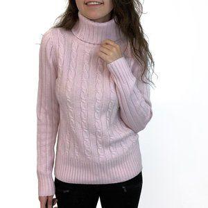 J. Crew Wool Blend Pastel Pink Sweater